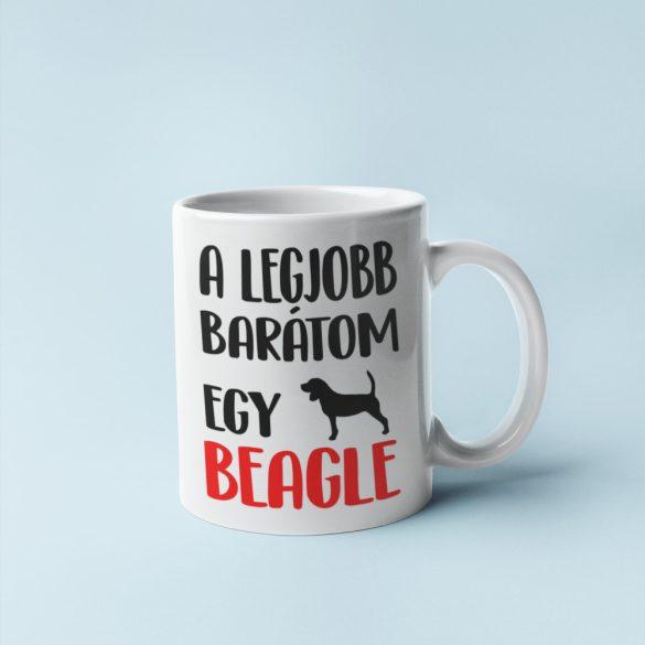 A legjobb barátom egy beagle bögre