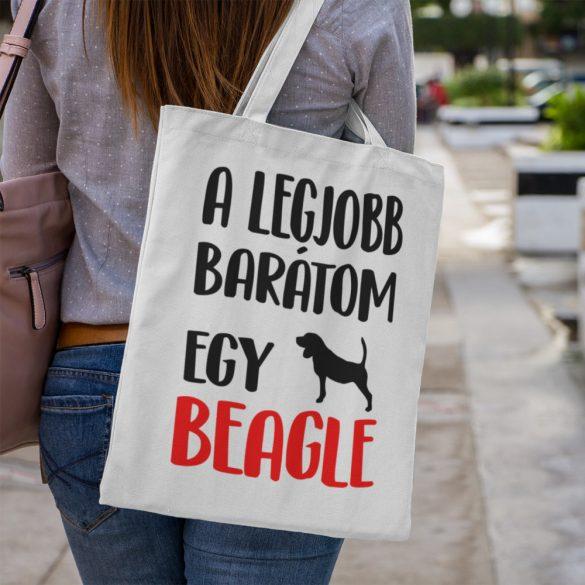 A legjobb barátom egy beagle vászontáska