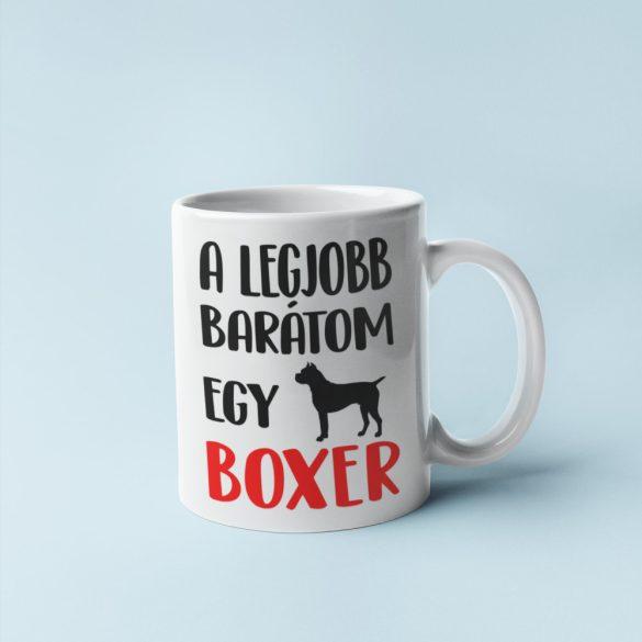 A legjobb barátom egy boxer bögre