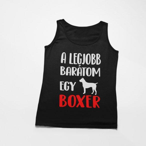 A legjobb barátom egy boxer férfi atléta
