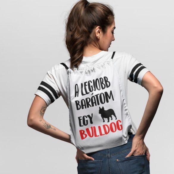 A legjobb barátom egy francia bulldog tornazsák