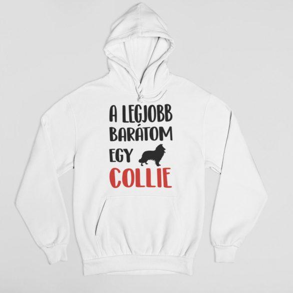A legjobb barátom egy collie férfi pulóver