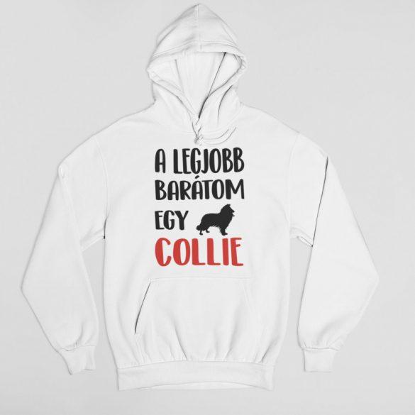 A legjobb barátom egy collie női pulóver