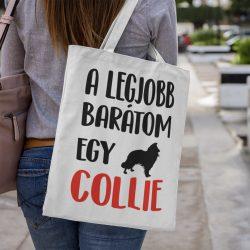 A legjobb barátom egy collie vászontáska