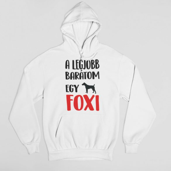 A legjobb barátom egy foxi női pulóver