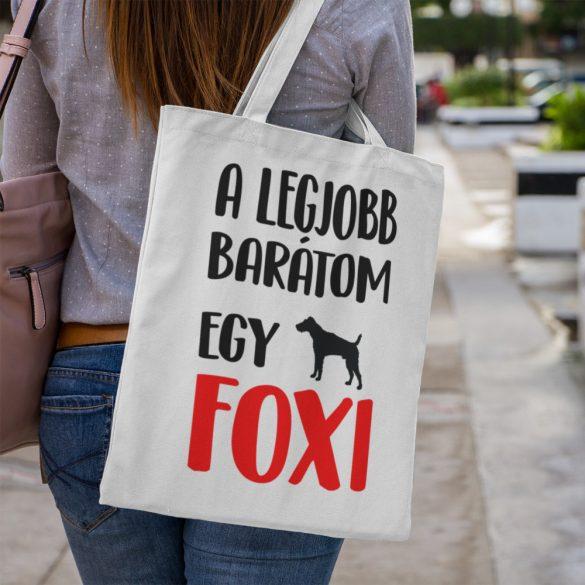A legjobb barátom egy foxi vászontáska