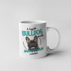 A legjobb francia bulldog gazdik (hónapban) születtek bögre