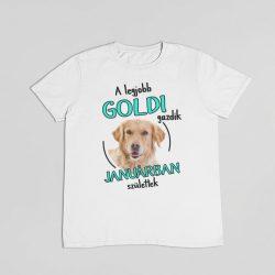 A legjobb goldi gazdik (hónapban) születtek férfi póló