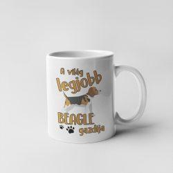 A világ legjobb beagle gazdija bögre