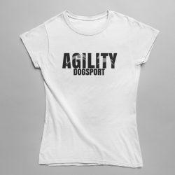 Agility dogsport női póló
