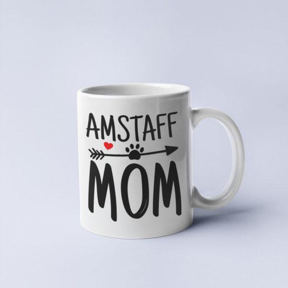 Amstaff mom bögre