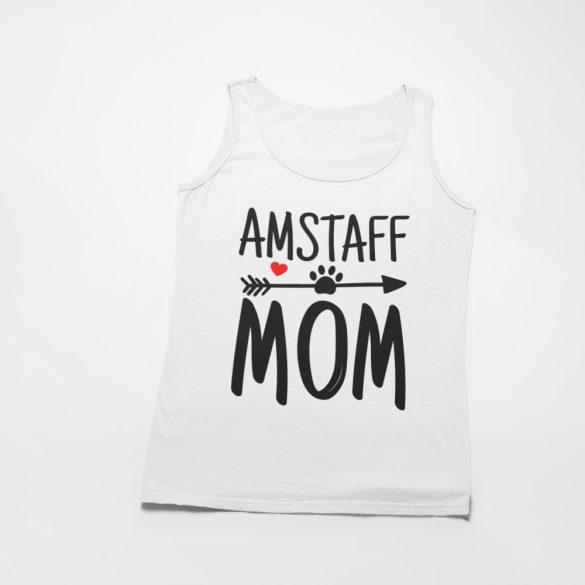 Amstaff mom női atléta