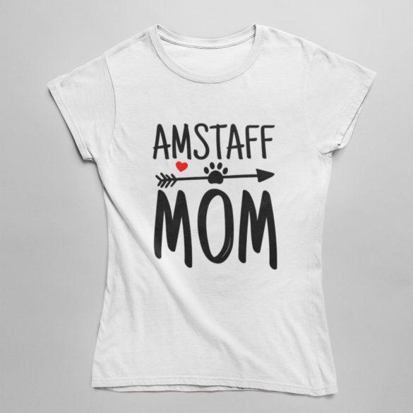 Amstaff mom női póló