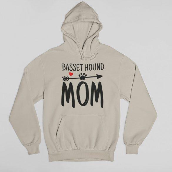 Basset hound mom női pulóver