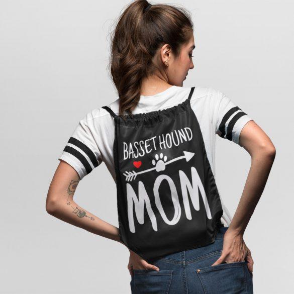 Basset hound mom tornazsák