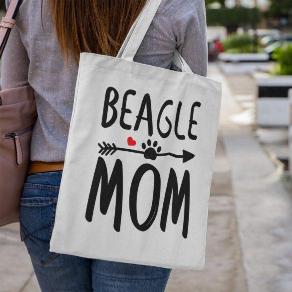 Beagle mom vászontáska