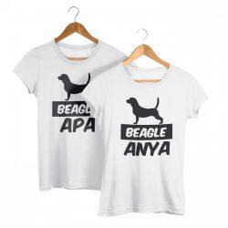Beagle páros póló (Beagle anya & Beagle apa)