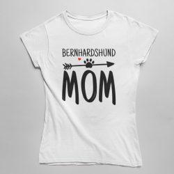 Bernhardshund mom női póló