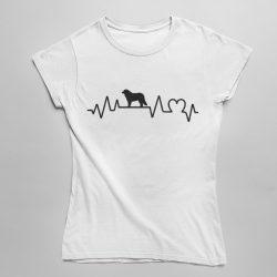 Berni pásztor heartbeat női póló