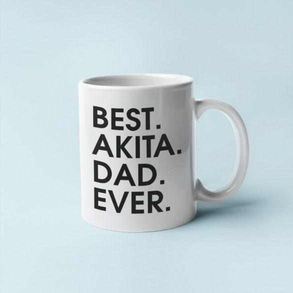 Best akita dad ever bögre