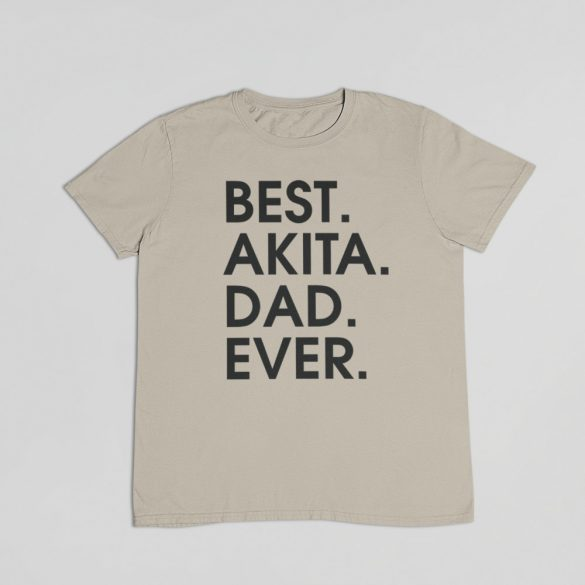 Best akita dad ever férfi póló