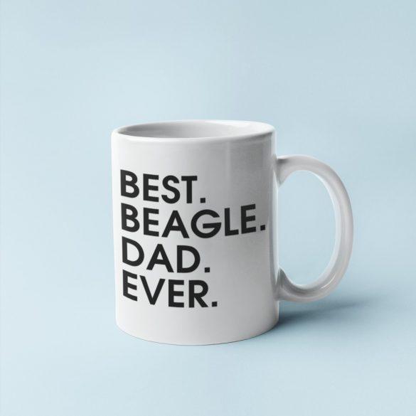 Best beagle dad ever bögre