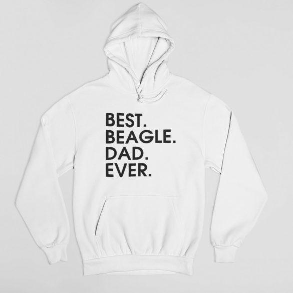 Best beagle dad ever férfi pulóver