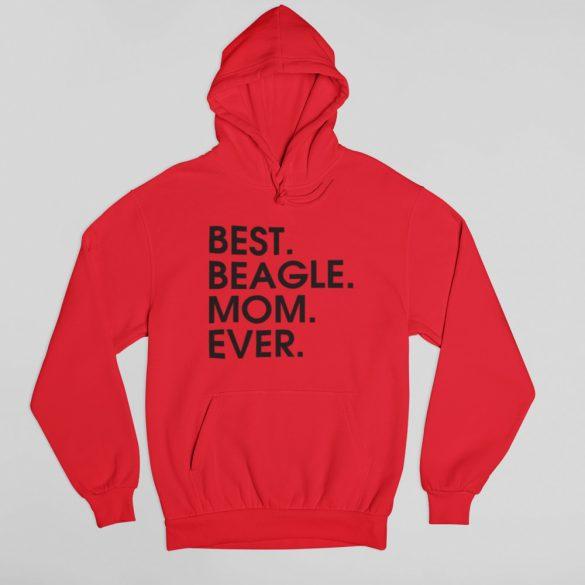 Best beagle mom ever női pulóver