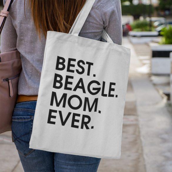 Best beagle mom ever vászontáska