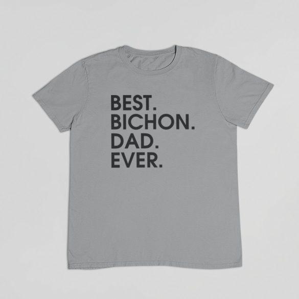 Best bichon dad ever férfi póló