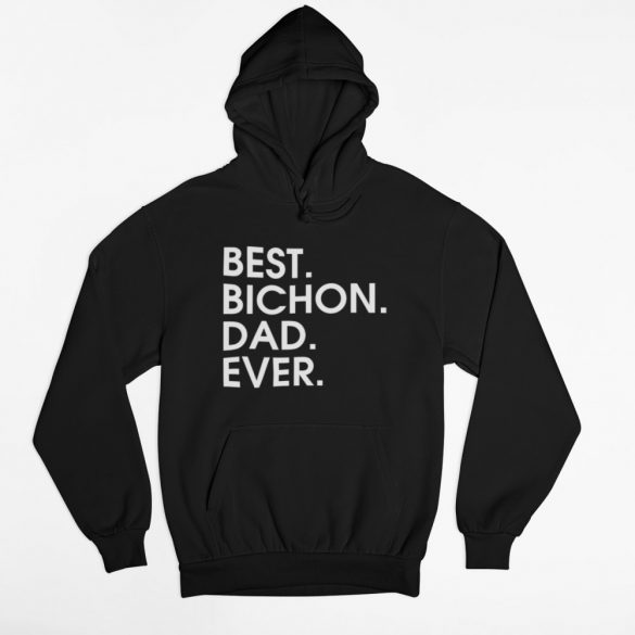 Best bichon dad ever férfi pulóver
