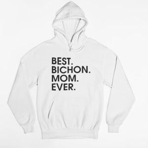 Best bichon mom ever női pulóver