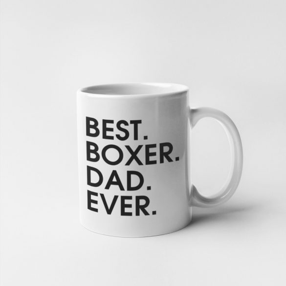 Best boxer dad ever bögre