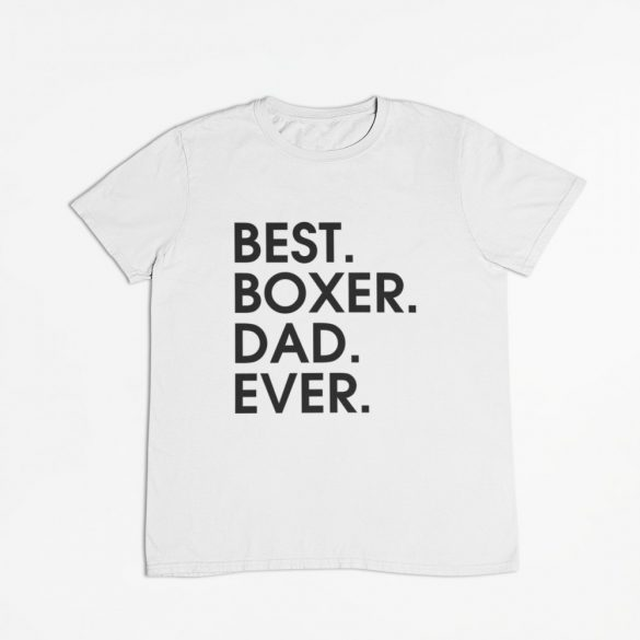 Best boxer dad ever férfi póló