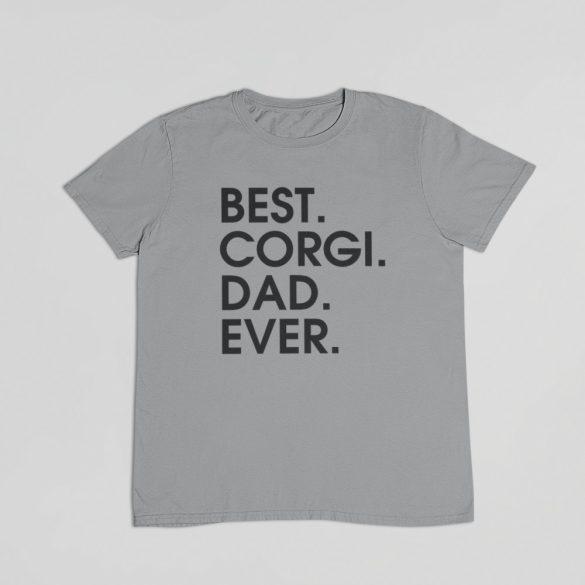 Best corgi dad ever férfi póló