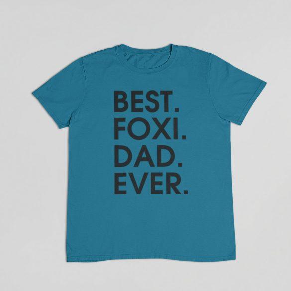 Best foxi dad ever férfi póló