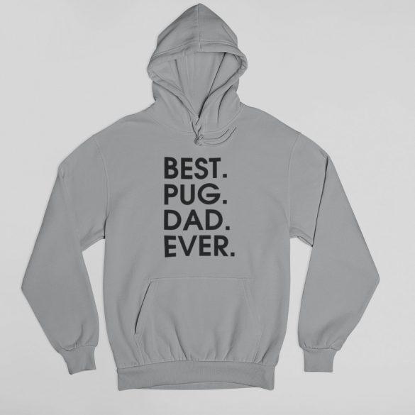 Best pug dad ever férfi pulóver