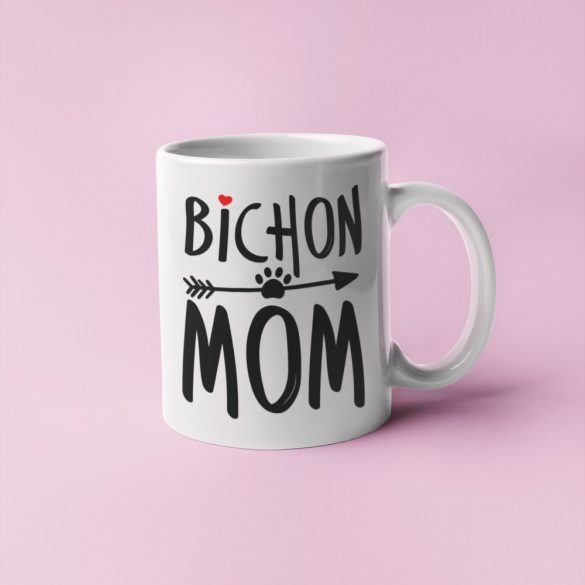 Bichon mom bögre