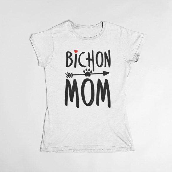 Bichon mom női póló