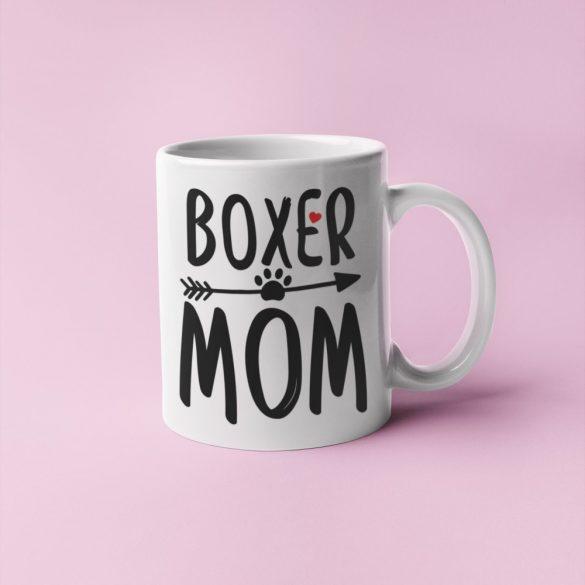 Boxer mom bögre