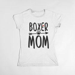 Boxer mom női póló