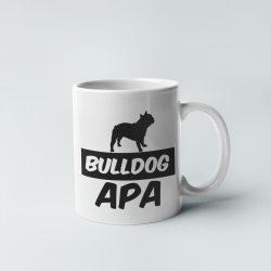 Francia Bulldog apa bögre