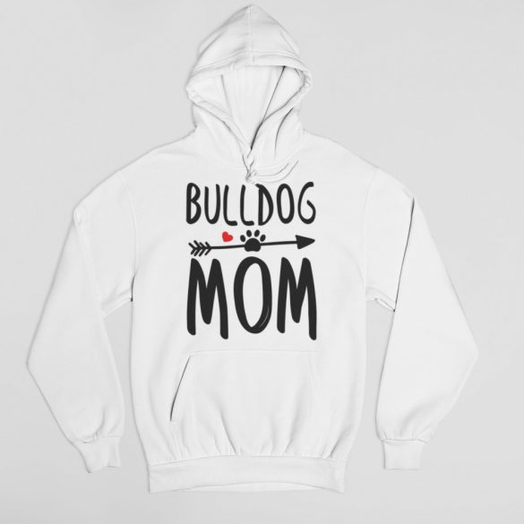 Bulldog mom női pulóver