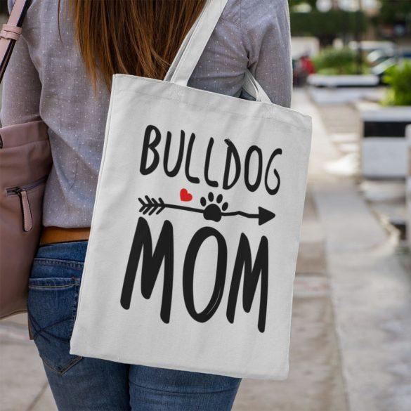 Bulldog mom vászontáska