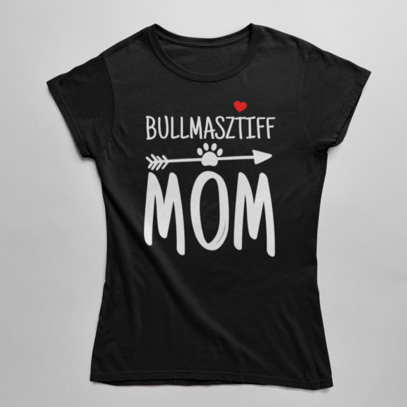 Bullmasztiff mom női póló