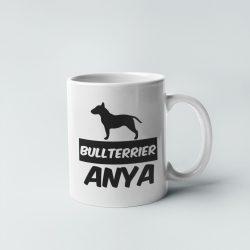 Bullterrier anya bögre