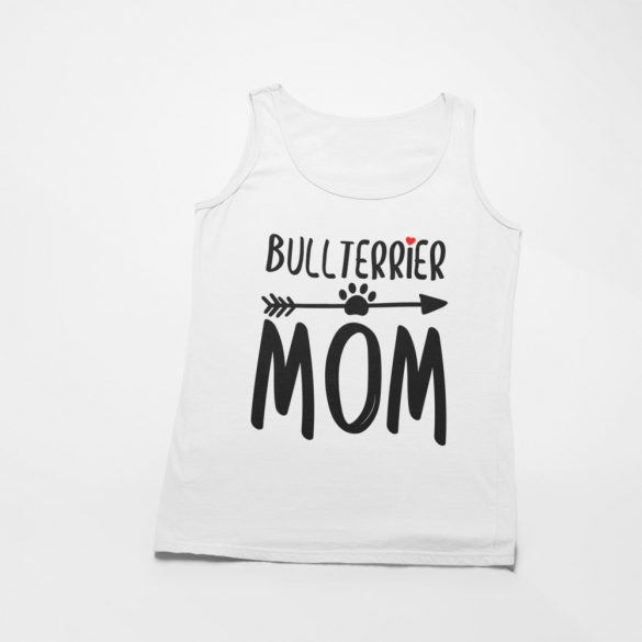 Bullterrier mom női atléta