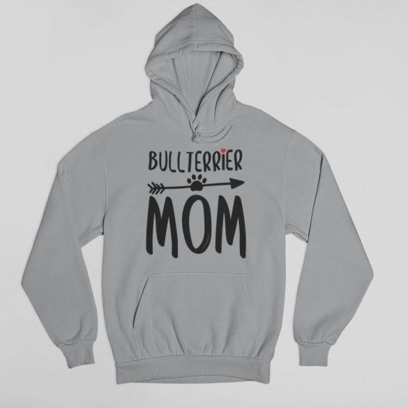Bullterrier mom női pulóver
