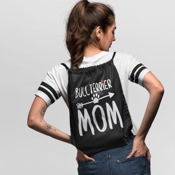 Bullterrier mom tornazsák