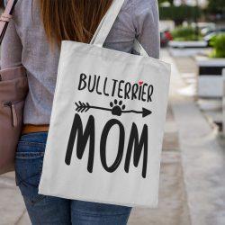 Bullterrier mom vászontáska